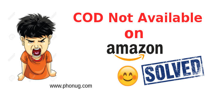 Amazon order trick to get COD